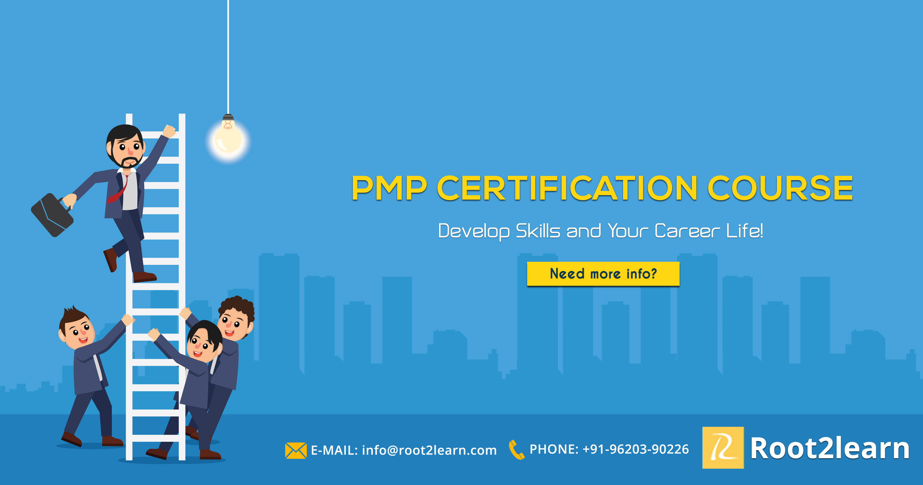 Pmp Certification Course To Develop Skills And Career Life Root2learn
